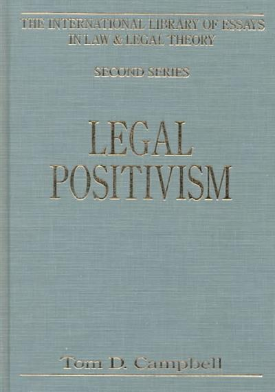 international library of essays in law and legal theory