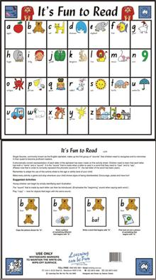 It's fun to Read - Activity Mat