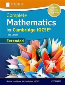 Extended Mathematics for Cambridge IGCSE with CD-ROM