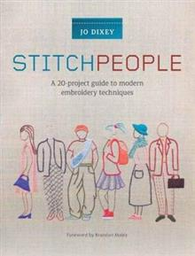 Stitch People: A 20-project journey through embroidery techniques