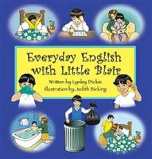 Everyday English with Little Blair (book & cd)