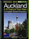 Auckland & 26 Regional Towns Complete Street Directory 2016