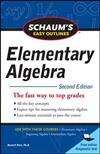 Schaum's Easy Outline of Elementary Algebra