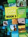 Complete Close Reading 3: Teacher Answer Book