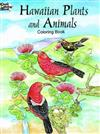 Hawaiian Plants and Animals Colouring Book