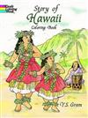 Story of Hawaii Colouring Book