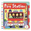 Busy Fire Station: Push, Pull and Slide the Scene to Bring the Busy Fire Station to Life!