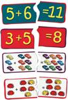 Count & Add Puzzle Cards (set of 20)