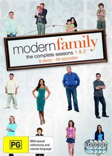 Modern Family Season 1 & 2 (8 Disc)