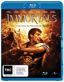 Immortals (BD + Digital Copy)