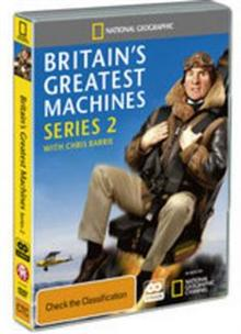 National Geographic: BRITAIN'S GREATEST MACHINES - SERIES 2