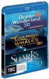 Dolphins And Whales 3D: Tribes Of The Ocean/ Sharks 3D/ Ocean Wonderland 3D
