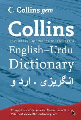 Collins GEM English-Urdu/Urdu-English Dictionary - ISBN