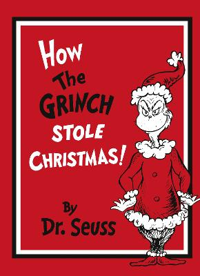 How The Grinch Stole Christmas Book Cover.How The Grinch Stole Christmas Gift Edition By Dr Seuss