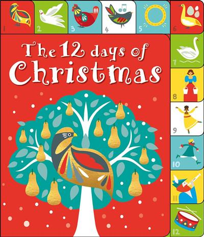 the 12 days of christmas a lift the tab book - 12 Days Of Christmas Book