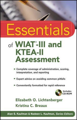 Essentials of WIAT-III and KTEA-II Assessment by Elizabeth O