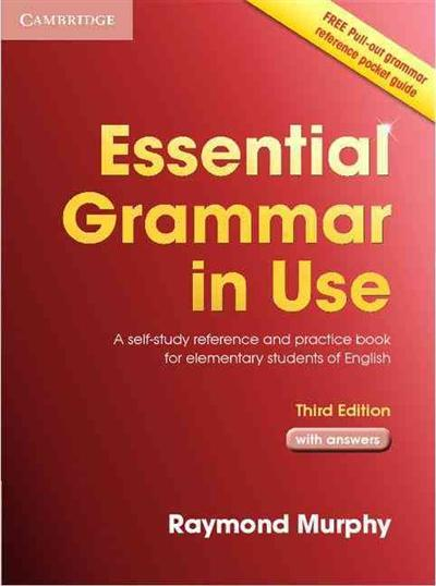Cambridge grammar guide array essential grammar in use with answers a self study reference and rh wheelersbooks com fandeluxe Gallery