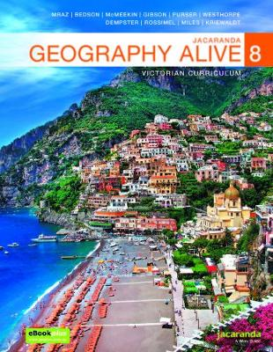 Jacaranda Geography Alive 8 Victorian Curriculum LearnON