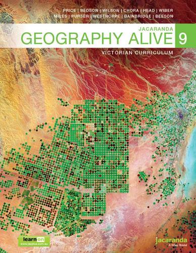 Jacaranda Geography Alive 9 Victorian Curriculum LearnON