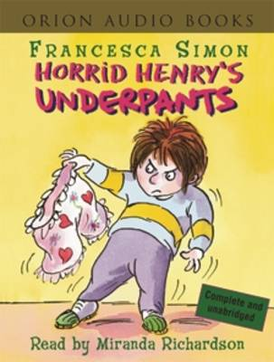 Horrid henrys underpants book 11 by francesca simon isbn horrid henrys underpants book 11 expocarfo