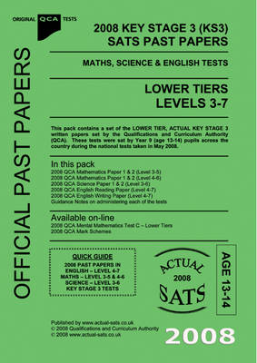 2008 Key Stage 3 (KS3) QCA SATs Past Papers - Maths, Science and
