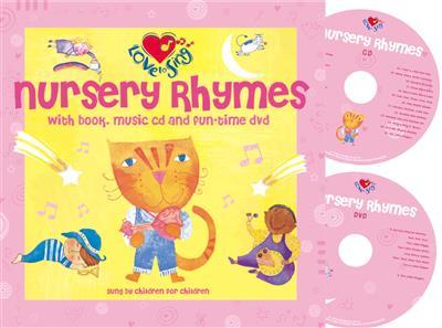 Nursery Rhymes Book Cd