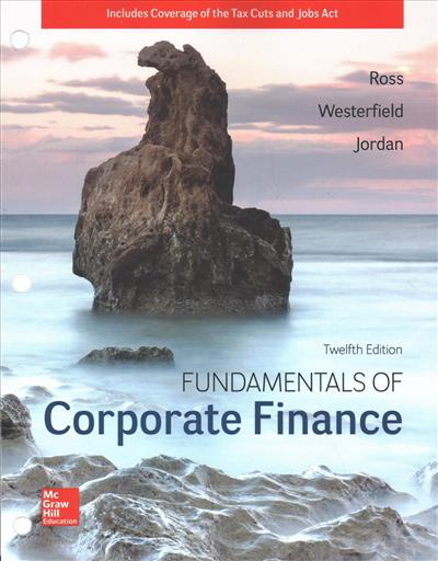 Gen Combo Ll Fundamentals Of Corporate Finance Connect Access Card
