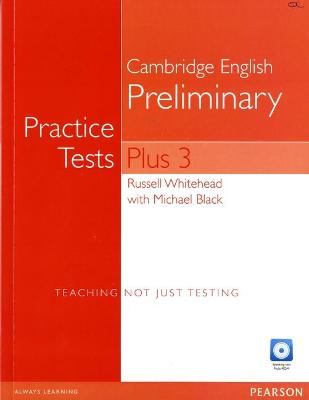 Practice Tests Plus PET 3 without Key and Multi-ROM/Audio CD Pack by