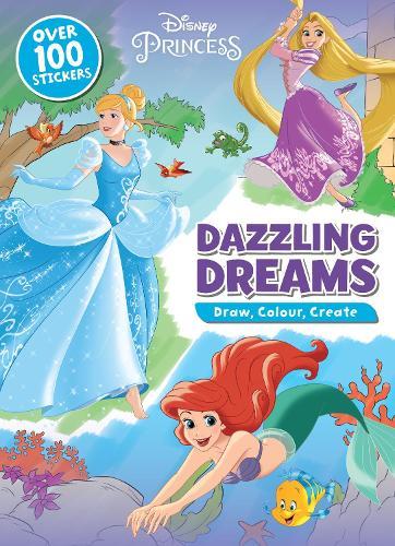 disney princess dazzling dreams draw
