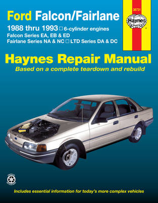 ford falcon fairlane australian automotive repair manual 1988 to rh wheelersbooks com au ford falcon shop manual ford falcon repair manual free download