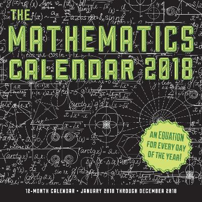 The Mathematics Calendar 2018 12 Month Calendar By Rebecca Rapoport