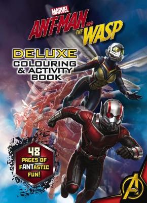 Marvel Ant Man And The Wasp Deluxe Colouring Activity Book