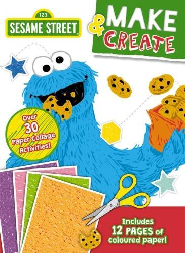 Sesame Street Make & Create Activity Book - ISBN: 9781760663070