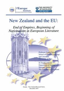 New Zealand and the EU: End of Empires, beginning of Nationalism in European Literature