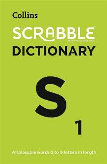 Collins Scrabble Dictionary: The Official Scrabble Solver - All Playable Words 2 - 9 Letters in Length