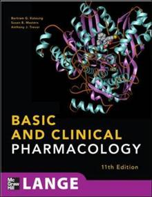 Basic and clinical pharmacology by bertram g katzung isbn basic and clinical pharmacology fandeluxe Choice Image