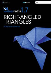 Walker Maths Senior 1.7 Right-Angled Triangles Workbook