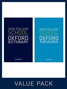 New Zealand School Oxford Dictionary and Thesaurus Pack