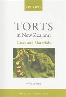 Torts in New Zealand: Cases and Materials 5e