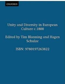 Unity and Diversity in European Culture c.1800