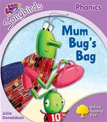 Oxford Reading Tree Songbirds Phonics: Level 1+: Mum Bug's Bag
