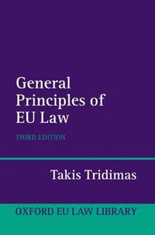 The General Principles of EU Law