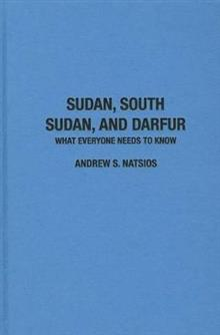 sudan south sudan and darfur natsios andrew s
