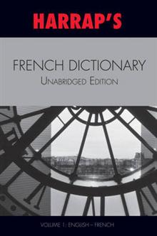 French Unabridged Dictionary: v. 1: English/French