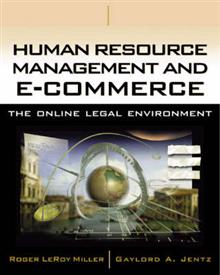 Human Resource Management and e-Commerce: The Online Legal Environment