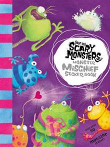 Monster Mischief Sticker Book