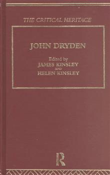 John Dryden: The Critical Heritage