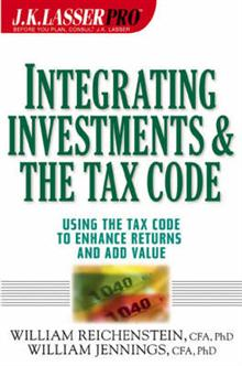 Integrating Investments and the Tax Code (W/URL)
