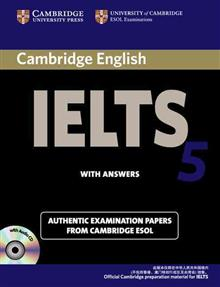 Cambridge IELTS 5 Self-study Pack (Self-study Student's Book and Audio CDs (2) China Edition: Level 5