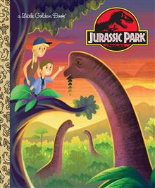 LGB Jurassic Park Little Golden Book (Jurassic Park)